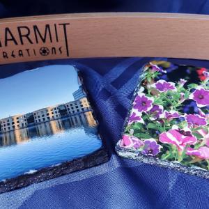 Photo Coasters, Slate (set of 4)